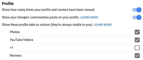 Google+ +1 Privacy
